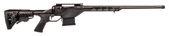 New 2016 Model! Savage 22638 10BA STEALTH Bolt 6.5 Creedmoor 10+1 24″ Threaded Accutrigger Black Aluminum Tactical Stock