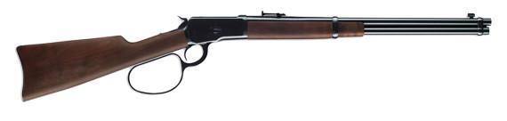 New! Winchester 534190137 1892 Large Loop Carbine 357 Magnum 20″ Grade I Walnut Stock – Blued