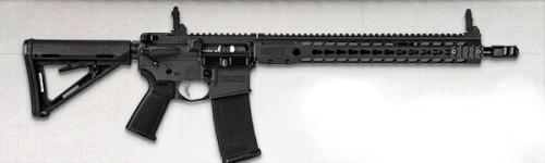 New Model! BARRETT M15394-S REC7 DI Direct Impingement 223/556 – 16 Inches – 30+1 Barrett Keymod Handguard – Barrett Sights – Black