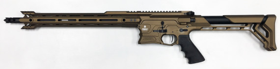 New! COBALT KINETICS B.A.M.F. EDGE – Burnt Bronze/Black 223 Rem/556 NATO – 16 inches – Case