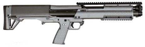Back in Stock! KEL-TEC KSG Tactical Bullpup Shotgun 12GA 18.5″ 12RD Cerakote Grey