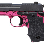 New! Sig Sauer 238-380-SP 2.7in 7+1 Pink Dip with Black Slide and Black Rubber Wraparound Grip Blk