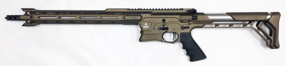 New! COBALT KINETICS B.A.M.F. EDGE – Burnt Bronze/Stainless 223 Rem/556 NATO – 16 inches – Case