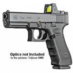New! GLOCK G17 Generation 4 MOS (Modular Optic System) – 9mm – 3×17 Rounds Mags – Tactical Rail – Interchangeable Grips