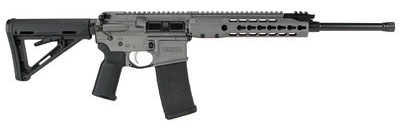 New! Barrett REC7 14958 Gen 2 Flyweight – 5.56 NATO/223 Rem 16″ 30+1 Rail – Tungsten Grey Color – Soft Case