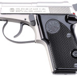 Back in stock! Beretta J212500 2021 Bobcat Inox 22LR 2.4″ 7+1 Black Synthetic Grip Gray/Stainless Steel