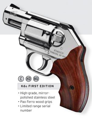 The Scopesmith The Gun Room— — New! Kimber K6s FIRST EDITION