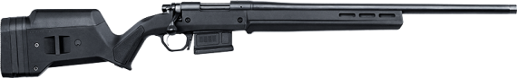 New 2017 Model – Back in Stock! Remington 84293 700 Magpul Bolt Action Rifle, 308Win, 22″ R5 Threaded Barrel, Black Cerakote Finish, Carbon Steel Barrel Action, X-Mark Pro Trigger, Magpul Hunter Stock with Magazine