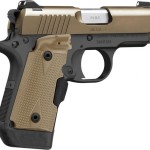 Back in Stock! Kimber Micro 9™ Desert Tan  SPECIAL EDITION – 9mm – 6 and 7 Rd Mags – LaserGrip