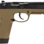 New Model! Beretta PX4 Storm JXF5F45 Special Duty 45 ACP 4.5″ 9+1 DA/SA Ambi – Dark Earth Poly Grip/Frame Black Slide – 3 Magazines – Waterproof Case