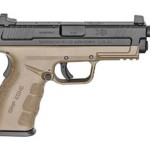 New Model! Springfield Armory XDGT9101FDEHC XDM Mod 2 9mm FDE Frame 16+1rd 2 Mags – Threaded Barrel and High Sights
