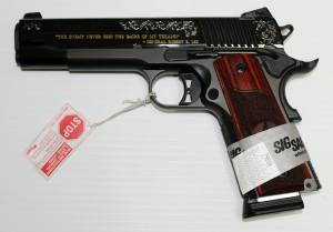 SIG 1911 Texas Gold 1