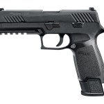 New for 2017! Sig Sauer 320F TACOPS 9mm 4.7in 21+1 Black Polymer Grip Nitron Stainless Steel – TruGlo and Night Sight – 4x21rd Magazines