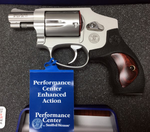 S&W 642 Performance Center Actual