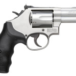 Back in Stock! Smith & Wesson 10061 Model 66 K-Frame Single/Double 357 Magnum 2.75″ 6 rd Stainless Steel Black Synthetic Grip
