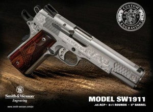S&W 1911 Engraved 10270 5