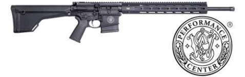 New! Smith & Wesson 10057 M&P 10 Performance Center, Semi-automatic Rifle, 6.5 CREEDMOOR, 20″ Threaded Barrel, 1 in 8″ Twist, 5R Rifling, Black Finish, Magpul MOE Rifle Stock, Mid-Length gas system, Two Stage match trigger, 10Rd magazine, 15″ Troy Free Float M-Lok Handguard with 1-2″ Aluminum M-Lok Accessory Rail Panel, Ambi Selector Lever