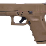 New! Glock 19 G19RTF2 Larry Vicker's Tactical 9mm 2 x15 Rounds FDE Frame with Vickers Texture – Cerakote FDE Slide – Vickers Kit – Tritium Front Sight/U-Notch Rear