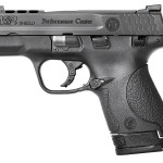 New Model – Now with Night Sights! Smith & Wesson Performance Center M&P9 SHIELD PORTED 11630 9mm 3.75″ 7&8rd Magazines – Night Sights – Black