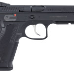 Back in Stock! CZ's Shadow 2 Single/Double 9mm 4.9 in 17+1 – Fiber Optic Front – Adjustable Rear Sights – Black Aluminum Grip Black Nitride 3 Magazines