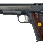 Back in Stock! COLT O5870A1 1911 Gold Cup National Match Series 70 SAO 45 ACP 5in 8+1 Rosewood Grip Blued