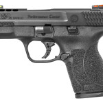 New! Smith & Wesson Performance Center 11629 M&P 45 Shield 45 ACP 3.3inches – Ported – 6+1/7+1 – Black Polymer Grip Black 6&7rd Magazines – Fiber Optic – Stainless Steel Black
