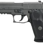 New Model! Sig Sauer 220R LEGION 45 ACP SA/DA, 8+1, 4.4 inches, Legion Gray Cerakote Finish, X-Ray Night Sights, Tactical Rail – P-SAIT trigger – 3 Magazines