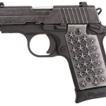 New! Sig Sauer P238 We The People S/A 380 ACP 2.7in 7+1 Contrast Sights Distressed Finish Aluminum Grips with 50 Stars Distressed Hard Coat Anodized Frame and Stainless Steel Slide – We The People and 1776 Markings