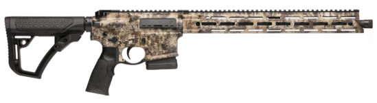 Back in Stock! Daniel Defense DDM4 AMBUSH KRYPTEK HIGHLANDER 300 AAC Blackout 16″ 30+1 Geissele SSA Two Stage Trigger M-Lok – Case