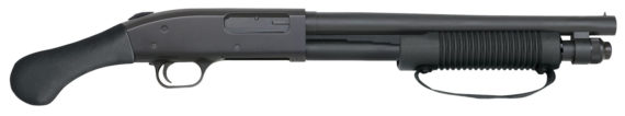 New! Mossberg 50657 590 Shockwave Pump 20 Gauge 3″ 14″ Barrel Black Synthetic – Bird Head Grip Blued