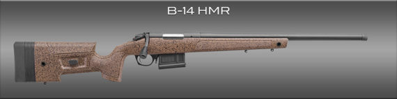 New! BERGARA B14S359 HMR 6.5 PRC 24inches Threaded 3+1 Adjustable Stock