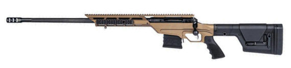 New Model! Savage 22867 10BA STEALTH EVOLUTION LEFT HAND 6.5 Creedmoor 10+1 24″ Threaded Accutrigger Bronze Aluminum Chassis