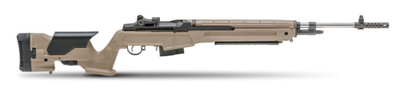 New Model! BACK IN STOCK! Springfield Armory MP9820C65 M1A™ Loaded – 6.5 Creedmoor – FDE Precision Adjustable Stock with 22″ Stainless Steel Barrel
