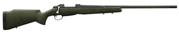 New! SAKO JRMLR82TB A7 LONG RANGE 6.5 Creedmoor 3+1 26″ 1:8 Fluted Threaded Barrel Black with Synthetic Green Stock