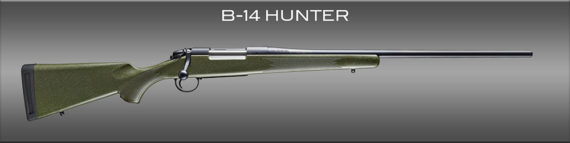 New! BERGARA B14LM101  B14 HUNTER – 300 Winchester Magnum – 24 inches 4+1  – Synthetic Soft Touch Stock