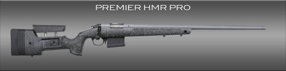Back in Stock! BERGARA BPR20-65MC PREMIER HMR PRO 6.5 Creedmoor 24 inches Threaded 5+1 Adjustable Mini Chassis Stock – All Stainless Steel – Cerakoted – Soft Case