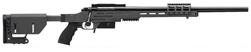 New Model! Kimber 8400 – 2008 Advanced Tactical SOC II SG 6.5 CREEDMOOR 22in 1 in 10 Threaded BLACK Folding Tactical Stock with Scope/Night Vision Rails