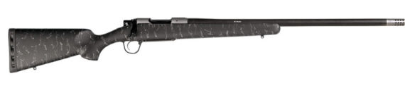 New! Christensen Arms RIDGELINE 6.5 Creedmoor 24in 3+1 Carbon Fiber Wrapped Barrel – Threaded with Detachable Muzzlebreak – Green with Black and Tan Webbing – SUB MOA