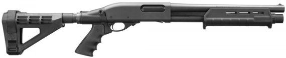 BACK IN STOCK! Remington Firearms 81240 870 Tac-14 Pump 12 Gauge 14″  5+1 Synthetic Adjustable w/Pistol Grip Black
