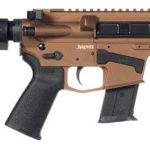 New! CMMG MK57 BANSHEE Pistol 5.7x28mm 5″ Threaded 20+1 – Collapsible Brace – Bronze