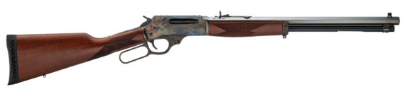 NEW! HENRY H009CC 30-30 Lever Action LIMITED EDITION COLOR CASE HARDENED 20″ Blue Octagon Barrel Walnut Stock 5rd