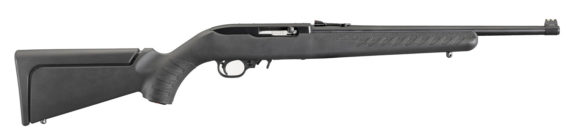 New! RUGER® 10/22® 31114 YOUTH 22LR – Black – Short Length of Pull – Modular Stock – Fiber Optic Sight