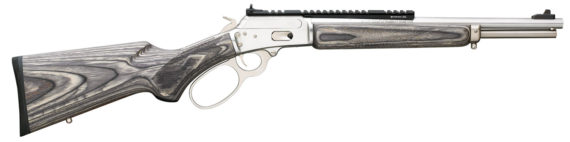 New! Marlin 70433 1894SBL Big Loop Lever 357 Magnum/38 Spl 16.5 inches 7+1 Black/Gray Laminated Stock Stainless Steel Action and Barrel