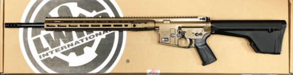 New Model – Back in Stock! LWRC VALKDIRBB20 Direct Impingement Semi-Automatic 224 Valkyrie 20.1″ 30+1 Magpul MOE Fixed Black Stock Burnt Bronze Cerakoted