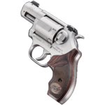 New 2019 SHOT Show Product – Released April 2019! Kimber K6S DASA Revolver (Double Action/Single Action) 2 inches – 357 Magnum – Brushed Stainless Steel – Walnut Grips