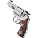 New 2019 SHOT Show Product – Released April 2019! Kimber K6S DASA Revolver (Double Action/Single Action) 3 inches – 357 Magnum – Brushed Stainless Steel – Walnut Grips