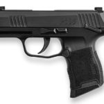 New Model with Manual Safety!  – Sig Sauer 3659BXR3-MS P365 9mm 3.1″ 10 rd X-Ray Sights 2x10rd Mags – Manual Safety