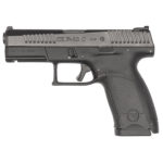 New! CZ 91531 P-10C Compact 9mm Striker Fired 4.02″ 15+1 with Rail and 3-Dot Sight Nitride/Black Polymer Finish – Interchangeable Grips – 2 Mags