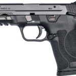 New Model – Smith & Wesson 12436 M&P9 SHIELD EZ M2.0, Semi-automatic Pistol, Internal Hammer Fired, Compact, 9MM, 3.675″ Barrel, Polymer Frame, Black Finish, 3-Dot Sights, Grip and Thumb Safety, 8Rd, 2 Magazines