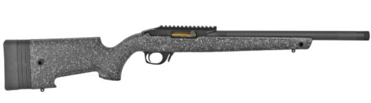 Back in Stock! 2020 SHOT SHOW PRODUCT! BERGARA BXR002 Semi-Automatic Rifle, 22 LR, 16.5in Fluted/Threaded Carbon Barrel, Black Pattern Stock, 1×10 Round Ruger 10/22-compatible Magazine